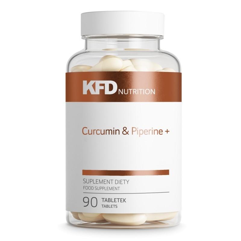 KFD Curcumin & Piperine+ / 90 Tabs