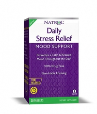 NATROL Daily Stress Relief / 30 Tabs