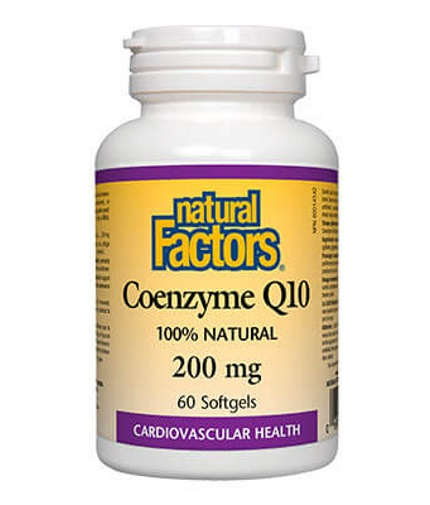 NATURAL FACTORS Coenzyme Q10 200 mg / 60 Softg