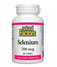 NATURAL FACTORS Selenium 200mcg / 60 Tabs