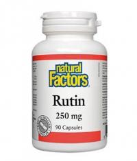 NATURAL FACTORS Rutin 250mg / 90 Caps