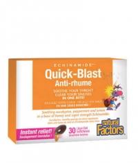 NATURAL FACTORS Quick-Blast Anti-rhume / 30 Liquid Softgels