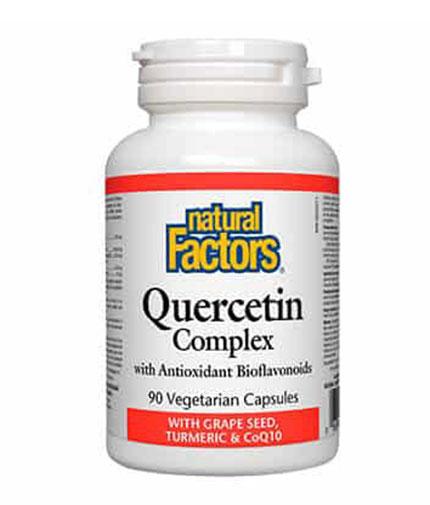 NATURAL FACTORS Quercetin Complex / 90 Vcaps