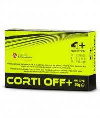 4+ NUTRITION CORTI OFF +  / 60cps