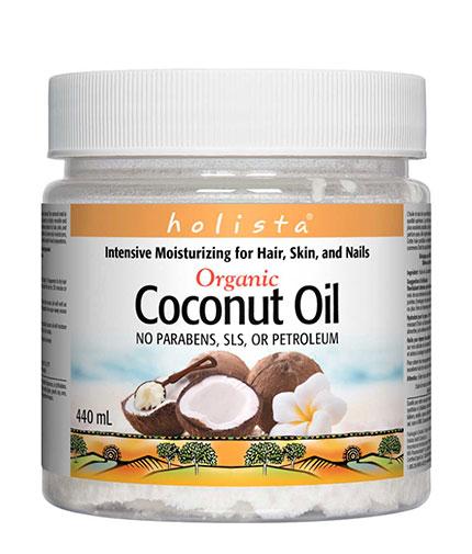 NATURAL FACTORS Holista Organic Coconut Oil / 440ml