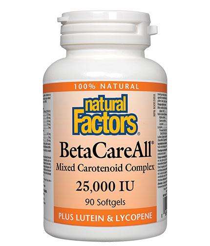 NATURAL FACTORS Beta CareAll 25000 IU / 90 Softg