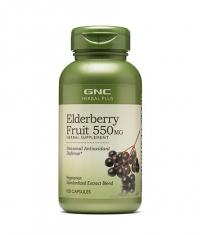 GNC Elderberry Fruit 550 mg/ 100 Caps
