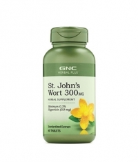 GNC Herbal Plus St. John`s Wort 300mg / 60 Tabs