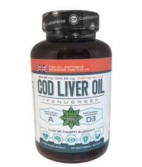 CVETITA HERBAL Cod Liver Oil / 60 Caps.