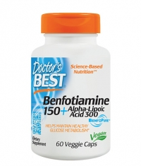 DOCTOR'S BEST Vitamin B1 + Alpha - Lipoic Acid / 60 Vcap.