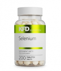 KFD Selenium / 200 Tabs.