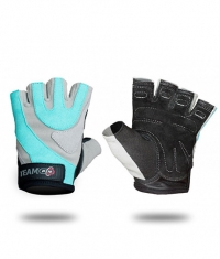 PURE NUTRITION Gloves Womens Pro Grey & Blue
