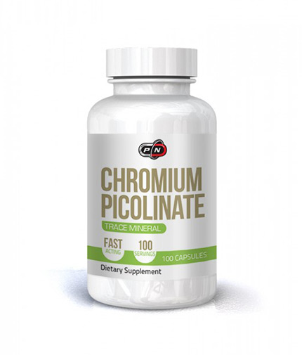 PURE NUTRITION Chromium Picolinate 200mcg. / 100 Vcaps