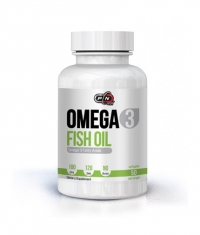 PURE NUTRITION Omega 3 Fish Oil 180/120 1000mg. / 50 Softgels