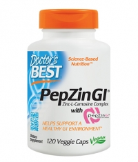 DOCTOR'S BEST Zinc-L-Carnosine Complex / 120 Vcaps