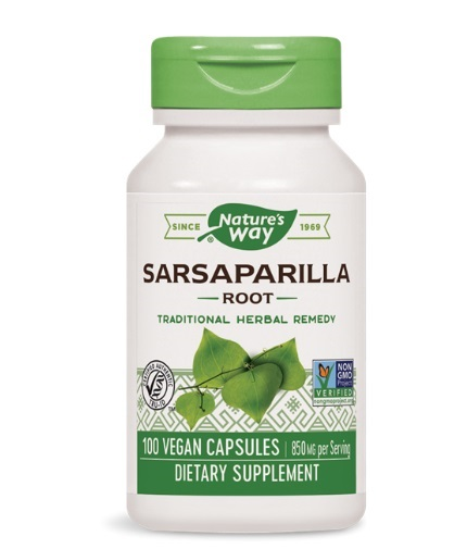 NATURES WAY Sarsaparilla Root / 100 VCaps