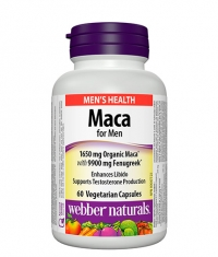 WEBBER NATURALS Maca for Men / 60 Vcaps