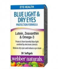 WEBBER NATURALS Blue Light Dry Eyes Protection Formula / 30 Softgels
