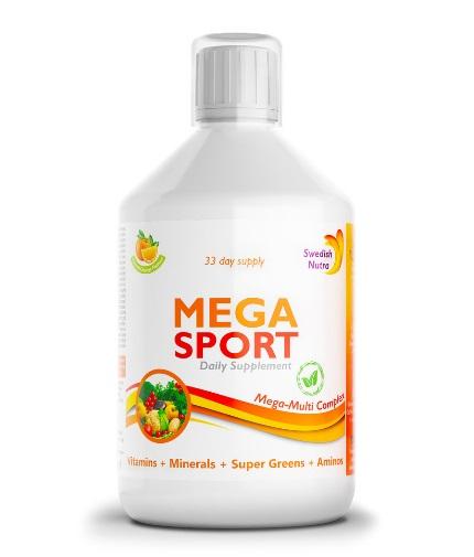 SWEDISH NUTRA Mega Sport / 500ml