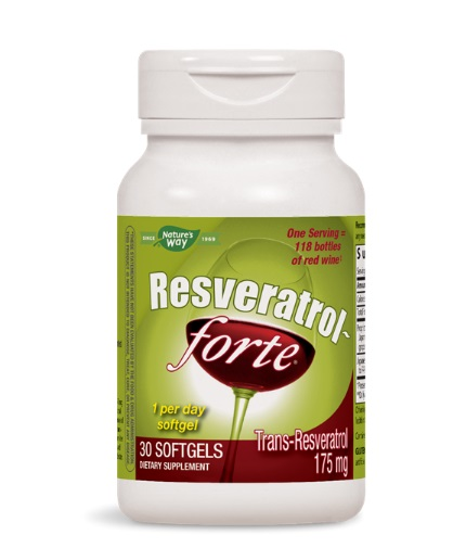NATURES WAY Resveratrol Forte 450mg / 30 Softgels