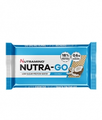 NUTRAMINO Nutra-Go Protein Wafer 2x19.5g