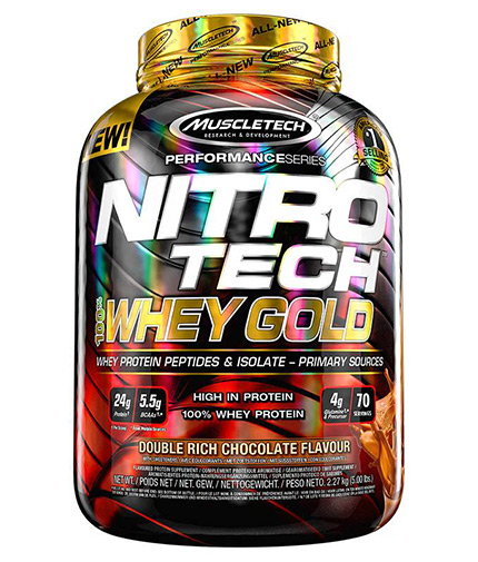 MUSCLETECH NitroTech Whey Gold Performance 5lb