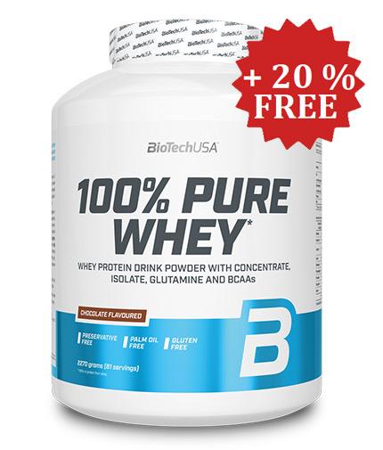 BIOTECH USA 100% Pure Whey + 20% FREE