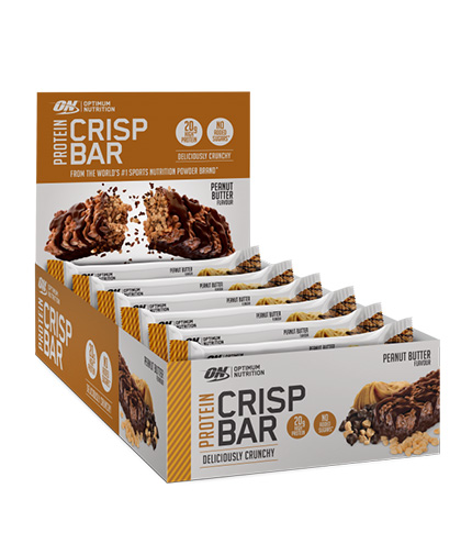 OPTIMUM NUTRITION Crisp Bar 10 x 65g.