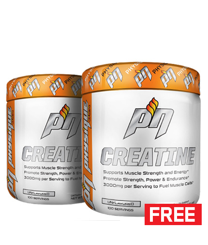 PROMO STACK Physique Creatine 600 gr. 1+1 FREE