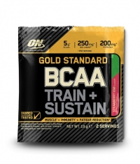 OPTIMUM NUTRITION Gold Standard *** Train + Sustain Sashet