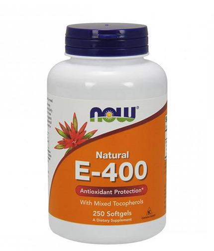 NOW Vitamin E-400 IU / 250 Softgels
