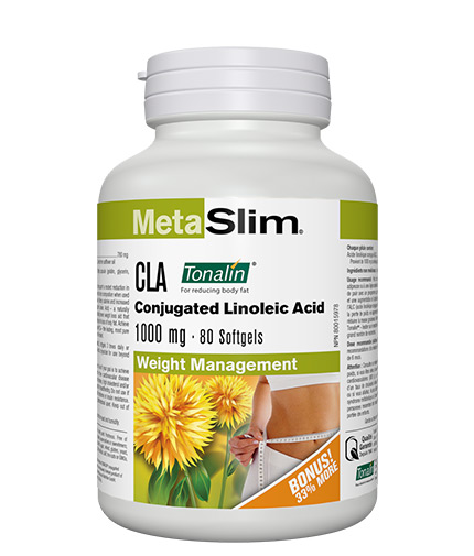 WEBBER NATURALS Metaslim Tonalin CLA 1000mg / 80 Softgels