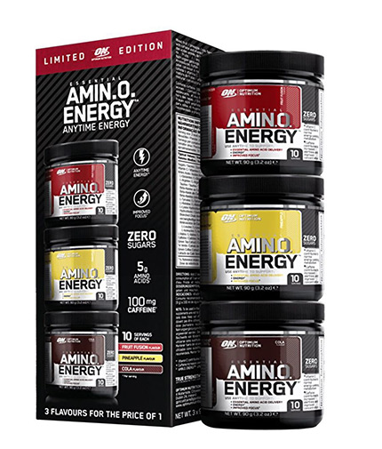 OPTIMUM NUTRITION Amino Energy Trial Size Bundle 3x10 Serv.