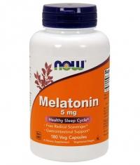 NOW Melatonin 5mg / 180 Vcaps