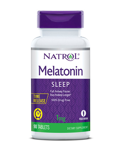 NATROL Melatonin 1mg - Time Release / 90 Tabs