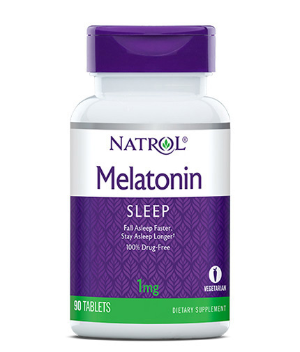 NATROL Melatonin 1mg / 90 Tabs