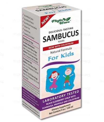 PHYTO WAVE Sambucus Nigra for Children / 120ml