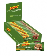 POWERBAR Natural Energy Fruit & Nut Bar box / 24x40gr
