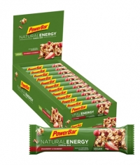 POWERBAR Natural Energy Cereal Bar Box / 24x40gr