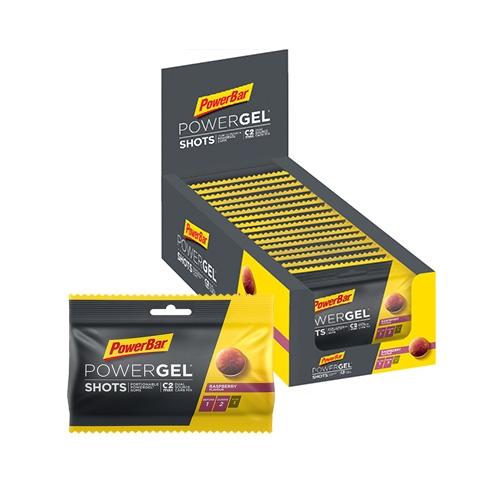 POWERBAR PowerGel Shots with Caffeine / 16x60gr