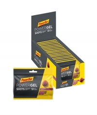 POWERBAR PowerGel Shots with Caffeine / 16x60gr