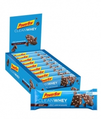 POWERBAR Clean Whey Bar Box / 18x45gr