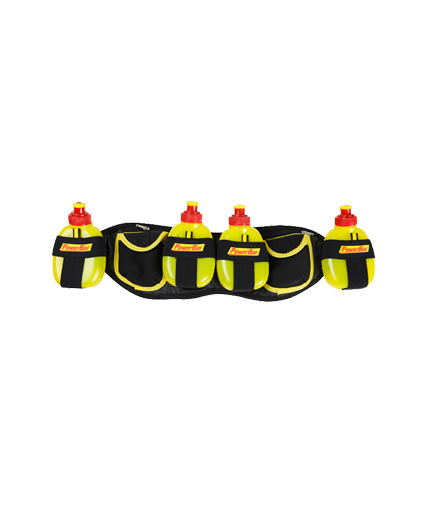 POWERBAR Gel Belt including 4 Gel Bottles