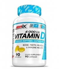 AMIX Vitamin D3 4000 I.U. / 90 Softgels