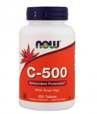 NOW Vitamin C-500 / 250 Tabs