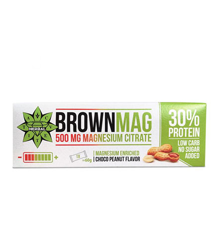 CVETITA HERBAL BrownMag Bar Peanut / 60g