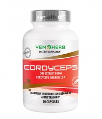 VEMOHERB Cordyceps / 90 Caps