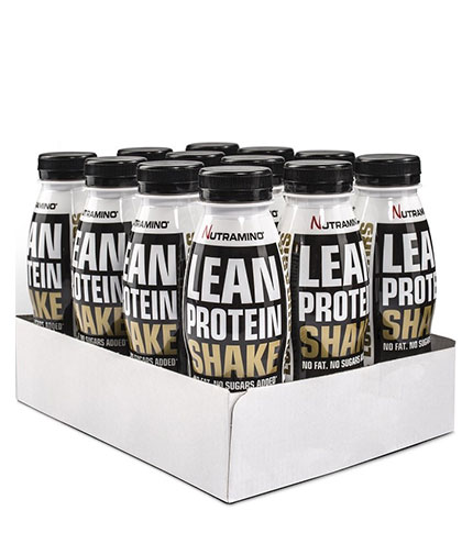 NUTRAMINO Lean Protein Shake Box / 12x330ml