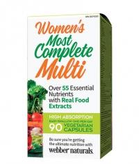 WEBBER NATURALS Women's Most Complete Multi / 90 Vcaps