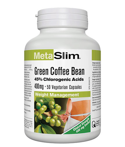 WEBBER NATURALS MetaSlim Green Coffee Bean / 50 Vcaps